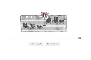 Doodle na 101 urodziny elektrycznej sygnalizacji �wietlnej