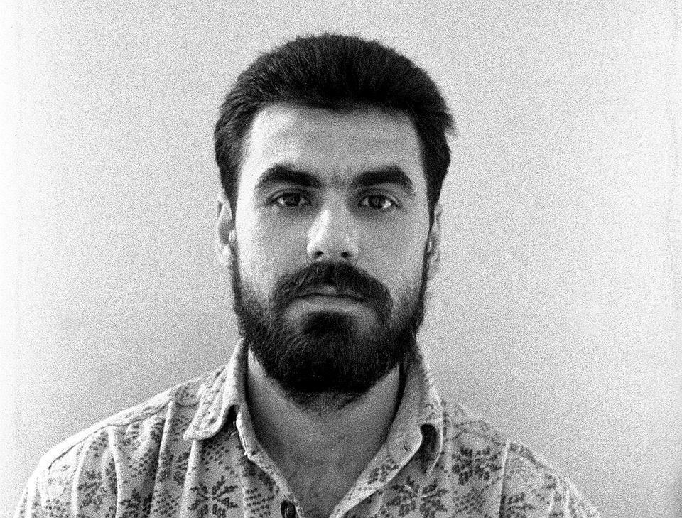da721654b0efd Simon Juzbaszew, zdjęcie zrobione w areszcie na warszawskiej Białołęce,  1991 r.