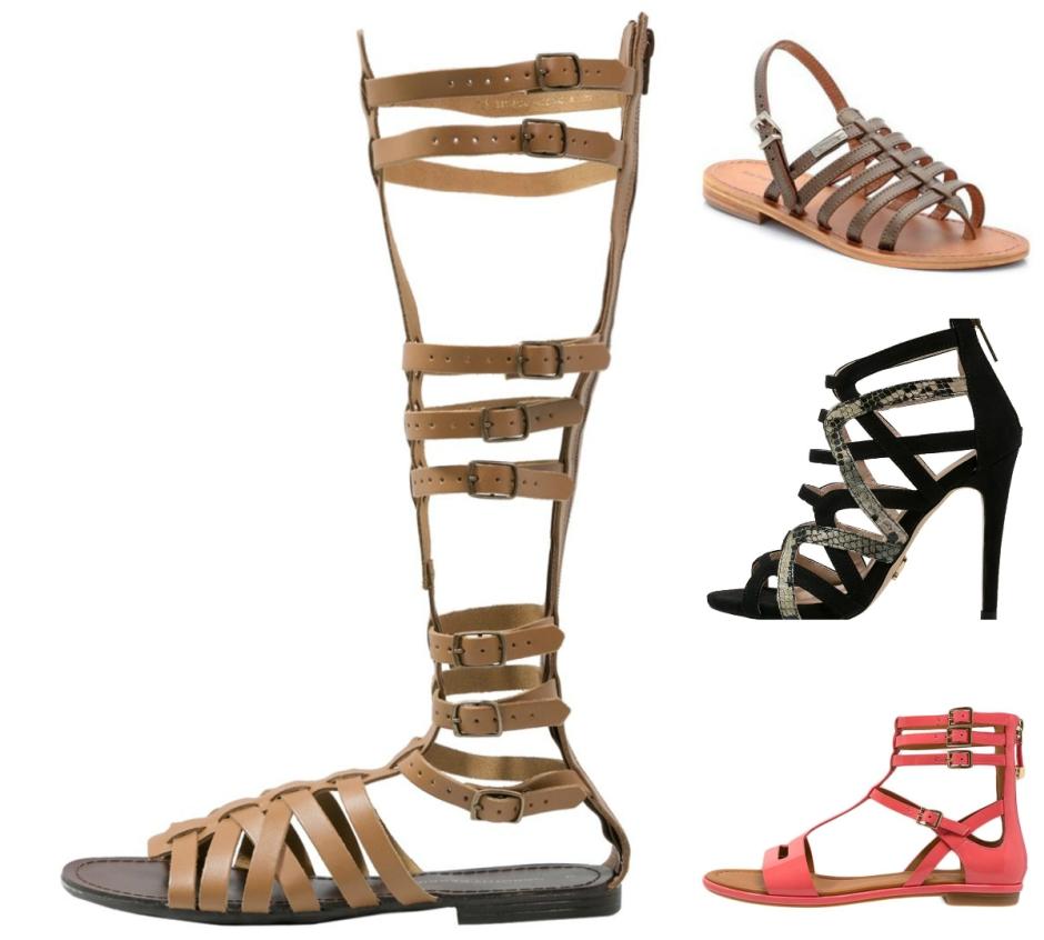 029725abfea82 Gladiatorki (od lewej: Dorothy Perkins, Les Tropeziennes, Lipsy, What For)