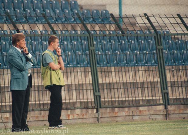 Adolf Adi Pinter trener Lech Poznań