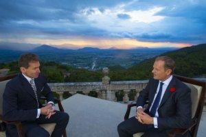 Tusk przyznaje: Ws. unii energetycznej sp�r dotyczy jednego z pi�ciu punkt�w