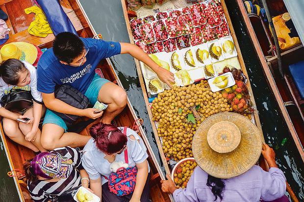 Bangkok, Ratchaburi: targ na wodzie to głównie atrakcja turystyczna