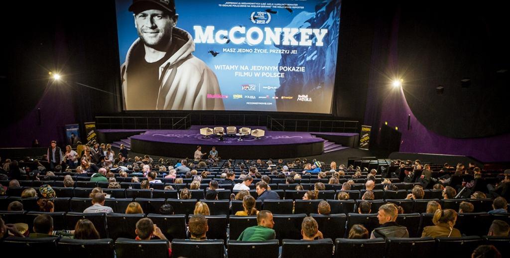 Polska premiera filmu ''McConkey''