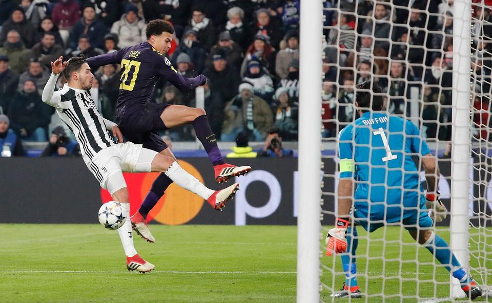 Dele Ali i Gianluigi Buffon, Juventyus - Tottenham, Liga Mistrzów