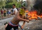 """Węgierska policja starła się z imigrantami na granicy z Serbią. """"Brutalne i nieeuropejskie działania"""""""