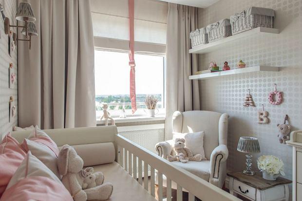 Pokój dla niemowlęcia - przytulnie i pastelowo