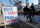 Wybory w USA. Jak głosuje San Francisco. 100 stóp strefy wolnej od agitacji i specjalne ubrania do zakrywania propagandowych koszulek