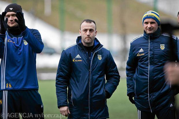Trener Arki Gdynia Pawe� Sikora przed meczem z Okocimski Brzesko: Gra i strzelanie bramek w ko�cu id� w parze