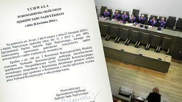 Uchwała Zgromadzenia Ogólnego Sędziów Sądu Najwyższego
