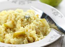Risotto z gruszką i serem gorgonzola - ugotuj