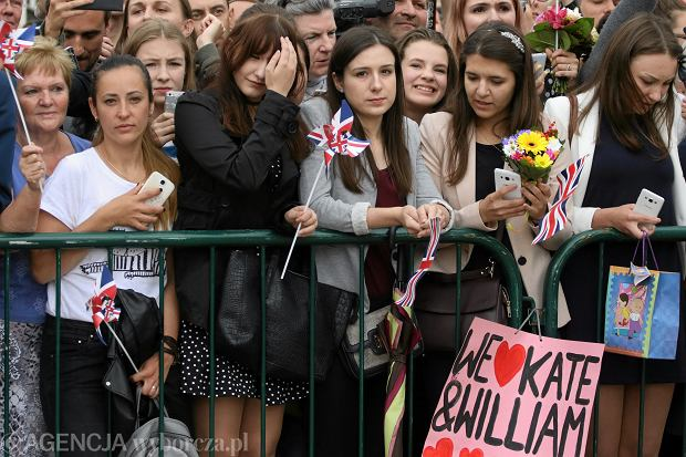 Wizyta brytyjskiej Pary Książęcej w Polsce