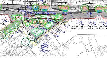 Park Kieszonkowy - projekt