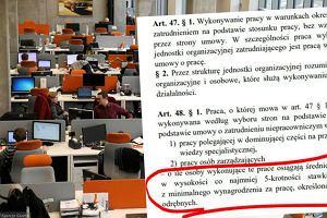 'Rzeczpospolita': Projekt rewolucji w kodeksie pracy w ostatniej chwili mocno się zmienił. Na korzyść pracodawców