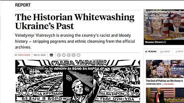 Magazyn Foreign Policy o Ukrainie: Wybiela nacjonalistów odpowiedzialnych za zbrodnie na Polakach i Żydach