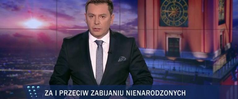 """""""Wiadomości"""" TVP o ogromnym proteście kobiet i Czarnym Piątku. To już nawet nie jest śmieszne"""