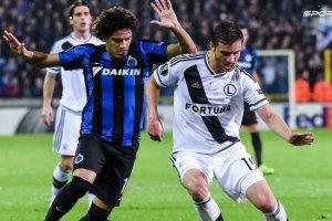 Legia przegra�a z Brugge. W�odarczyk: Zabrak�o determinacji. Awans? 1% szans
