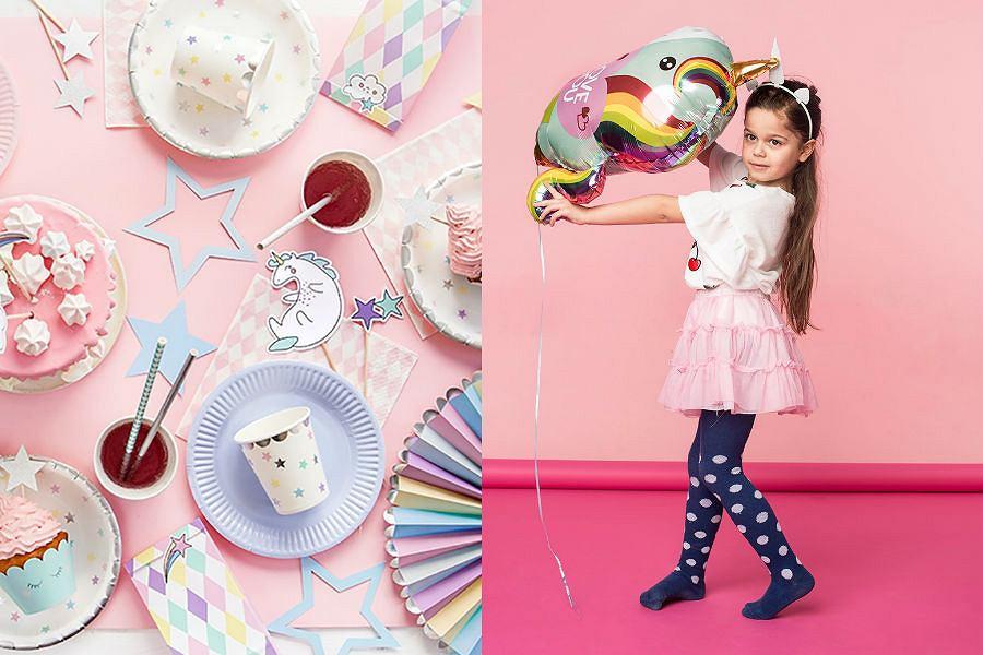 Pomysł na urodziny dziewczynki w stylu jednorożca
