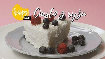 Haps Kids Ciasto z ryżu