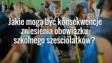 Dzieci w szkole podstawowej