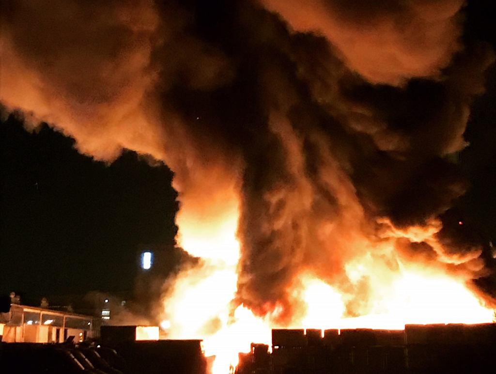 Pożar w Wilanowie