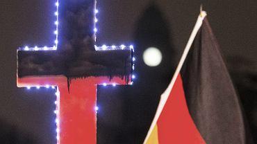 Protesty PEGIDA-y w Dreźnie