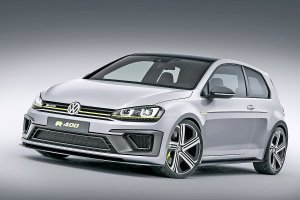 Salon Pekin 2014 | Volkswagen Golf R 400 Concept | 300 KM to za ma�o