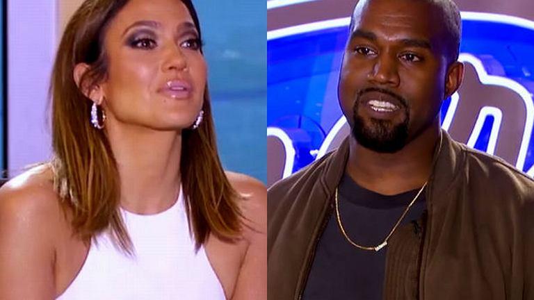Jennifer Lopez i Kanye West
