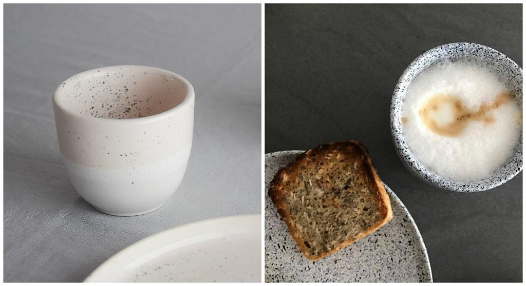 Śniadanie w kolekcji Mess i kolekcja Dust Aoomi Studio (fot. dzięki uprzejmości Porcelanowa.com)