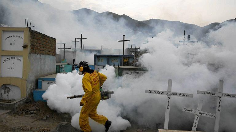 Służby walczą z rozprzestrzeniającym się wirusem