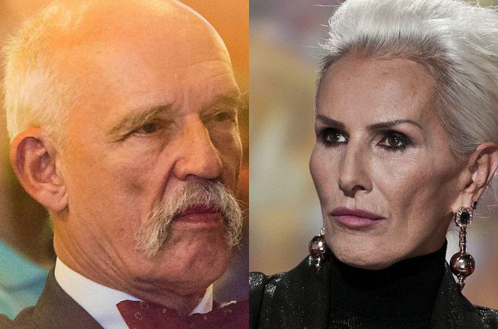 Janusz Korwin-Mikke dodał oburzający wpis o Korze. Komentuje jej wyznanie o molestowaniu: 'Co cię nie zabije, to cię wzmocni!'