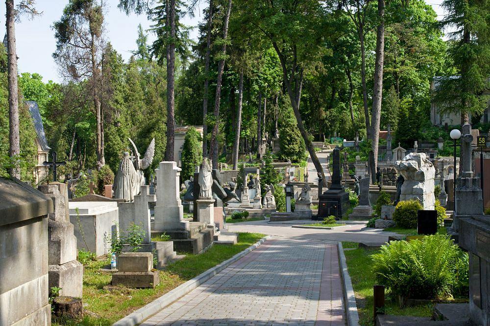 Cmentarz Łyczakowski we Lwowie, Ukraina / fot. Shutterstock