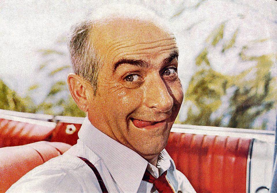 De Funes. Najsłynniejszy francuski komik i najsłynniejszy żandarm świata. Jego specjalność to postaci, które prześladują słabszych i podlizują się silniejszym