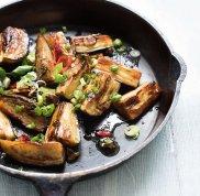 Bak�a�any w s�odko-pikantnym sosie