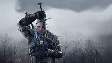 Wiedźmin Geralt, bohater książek A. Sapkowskiego, w grze 'Wiedźmin: Dziki Gon'