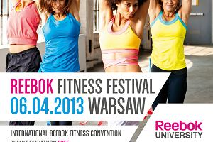 Reebok Fitness Festival już 6 kwietnia w Warszawie