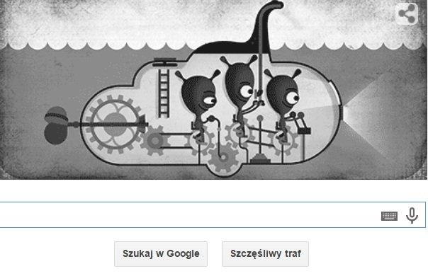 Potw�r z Loch Ness w Google Doodle. Nessie poszukiwana ju� od 81 lat
