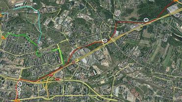 Wstępna koncepcja budowy linii tramwajowej łączącej Katowice z Sosnowcem