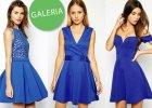 Naj�adniejsze sukienki w kolorze kobaltu - ponad 80 propozycji