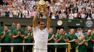 Wimbledon. Triumfator singla Roger Federer