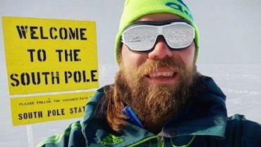 Martin Szwed na biegunie południowym? Niemiec przyznał, że to zdjęcie to fotomontaż