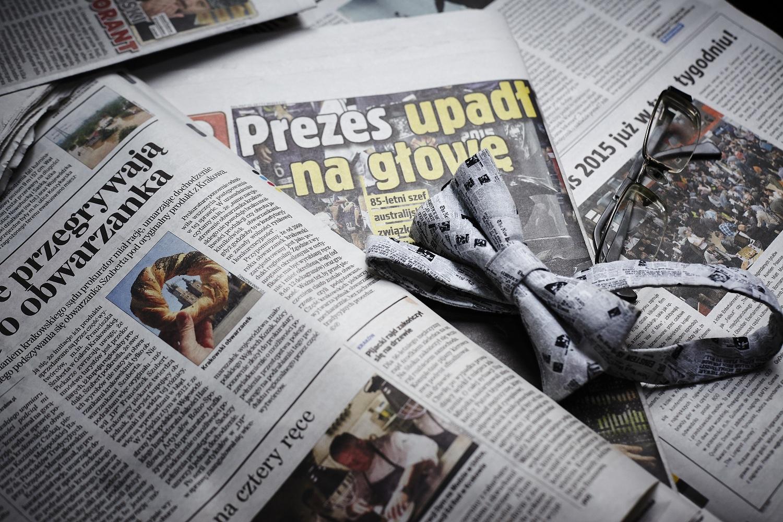 Ortografia, interpunkcja i składnia - trzy gracje współczesnego dziennikarstwa (fot. Marcin Giera)