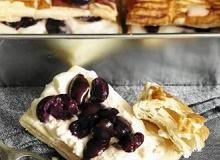 Ciastka czereśniowe ekstrawaganckie - ugotuj