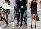 Haftowana spódniczka mini w trzech stylizacjach