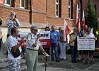 Objazdowy protest PiS-u. W obronie reformy sądów [ZDJĘCIA, WIDEO]