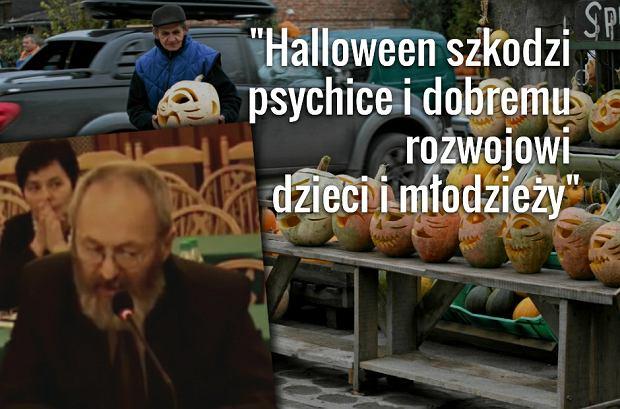 """Radny Misiak podczas sesji: """"Niebezpieczne �wi�to Halloween. Dzieci przesi�kaj� diabolicznym wp�ywem"""""""