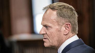 [Przesluchanie Donalda Tuska w procesie Tomasza Arabskiego ws. organizacji lotu do Smolenska