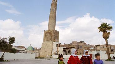 Meczet w Mosulu w 1998 roku.