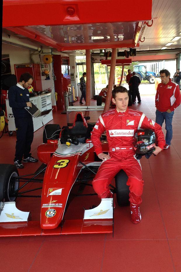 Bartek Mirecki o testach za kierownicą Formuły Abarth. To było niesamowite uczucie
