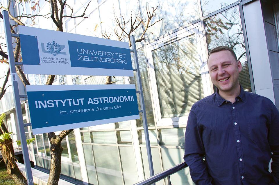 Zdjęcie numer 3 w galerii - Profesor Gil już oficjalnie patronem astronomii