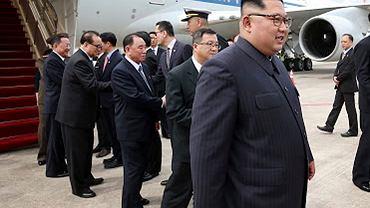 10.06.2018, Kim Dzong Un w Singapurze.